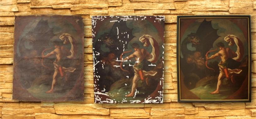 Mythologische Szene - scena mitologica - mythological scene